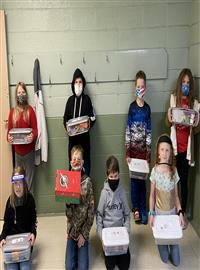 4th graders donate to children around the world